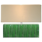 Plafonnier luminaire design et tapis contemporain