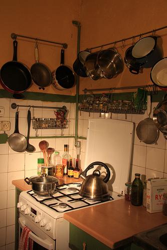Support de cuisine pour accrocher vos ustensiles