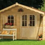 Aménagez votre jardin avec un vrai chalet en bois !