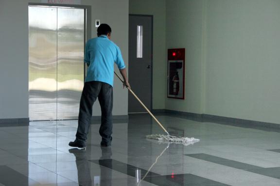 Nettoyer avant d'emménager