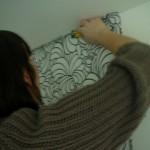 Pose du papier peint