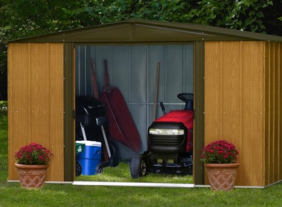 Les diff rentes utilisations d 39 un abri de jardin - Abris de jardin en metal pas cher ...