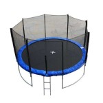 Comment ranger son trampoline avec filet ?
