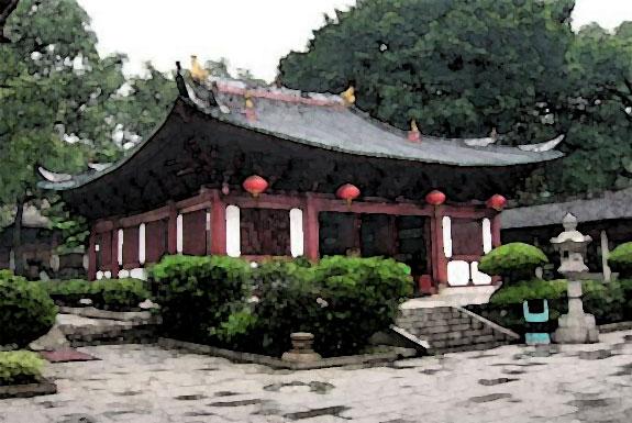 Un intérieur avec une atmosphère asiatique