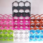 Un casier design pour ranger les bouteilles
