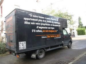 camion déménagement