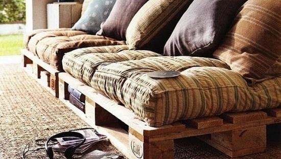 Décoration avec meuble en palette