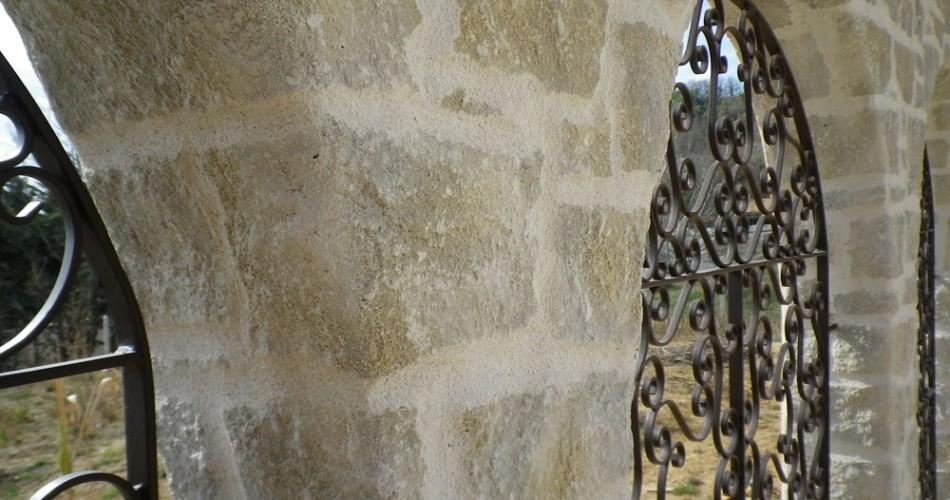 Obtenir une maison en pierre avec un enduit