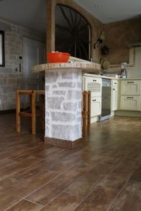 Décoration intérieure enduit pierre