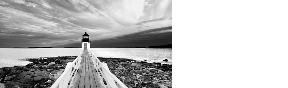 Décoration photo : la force du noir et du blanc