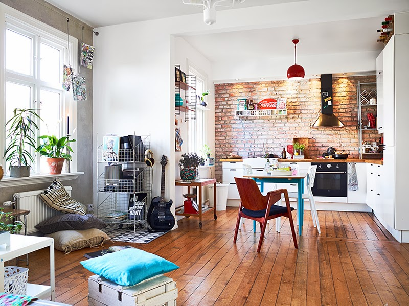 Les conseils pour transformer votre appartement en loft - Appartement moderne design retro widawscy ...
