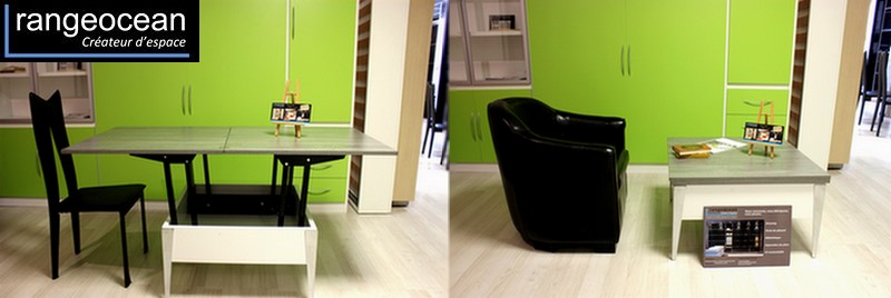 table multi position sur mesure