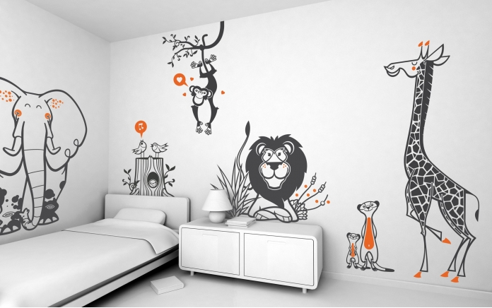 E-glue, spécialiste du design mural pour enfant