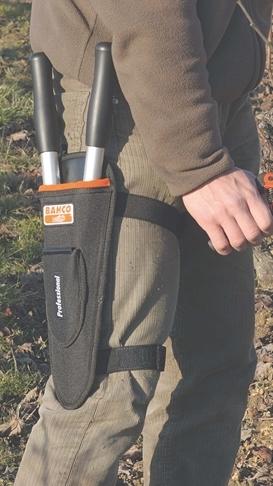 Bahco fabrique des outils mais aussi des porte-outils de jardin