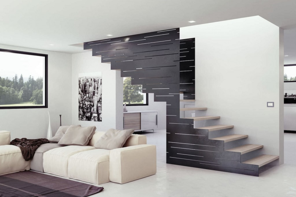 escalier design les 10 plus beaux mod les. Black Bedroom Furniture Sets. Home Design Ideas