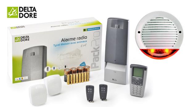 Plusieurs crit res pour bien choisir son alarme de maison for Alarme maison delta dore