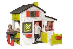 La maison pour enfant pour apprendre le rangement