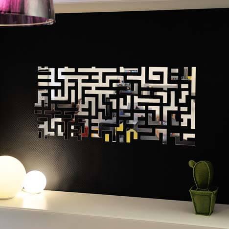 Objets d coratifs design et originaux for Miroir decoratif pour salon