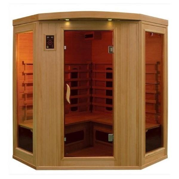 Le sauna id al pour la d tente en toute saison for Sauna la detente