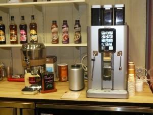 Machine à café grain Saeco Nextage