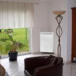 Zoom sur le radiateur électrique vertical