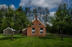 Terrasse maison brique