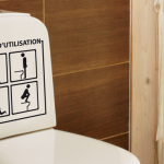 Déco: des stickers pour des WC originaux