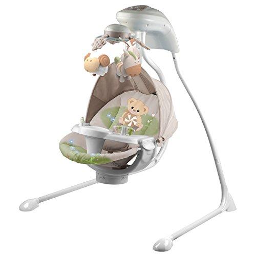 La balancelle pour éveiller et mettre le bébé dans le confort