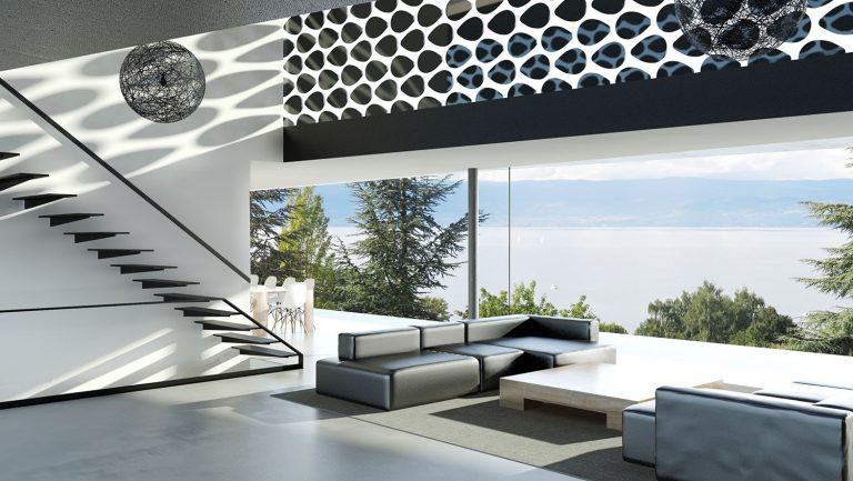 Contemporary house france