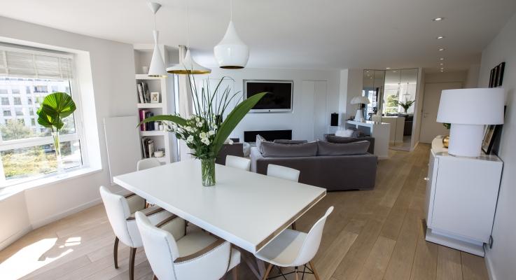 Transformation et rénovation complète d'un appartement