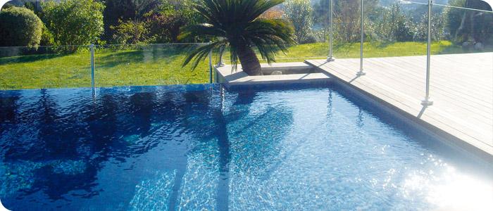 Le plan d'occupation des sols pour la construction d'une piscine