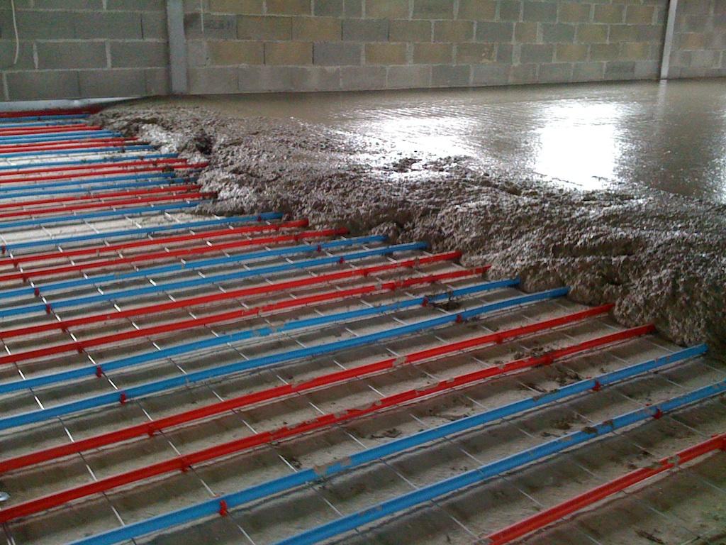 Chauffage par le sol: les nombreux avantages