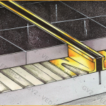 Protéger la dalle avec l'installation d'un joint
