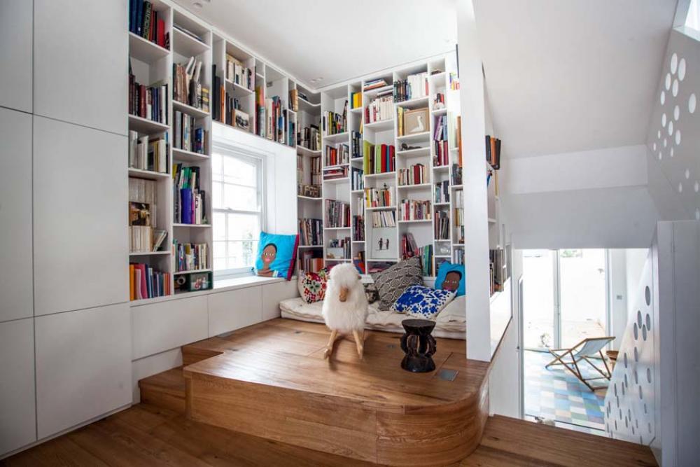 Idées pour aménager un coin de lecture zen