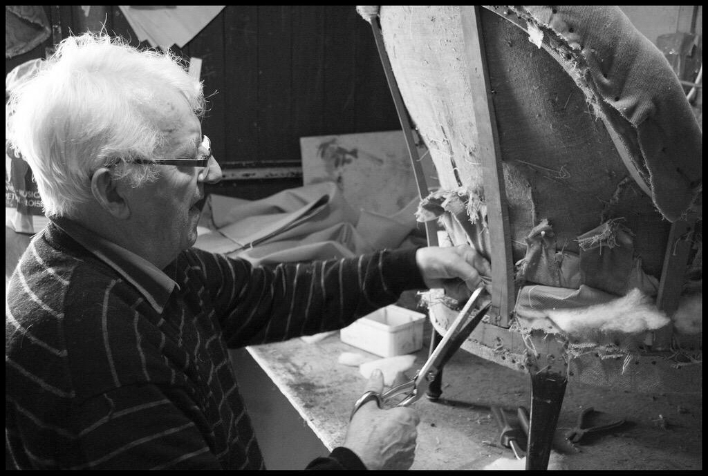 Tapissier, un métier artisanal remis à l'honneur