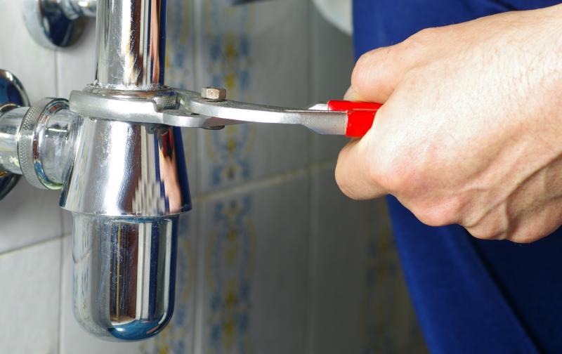 Comment réparer une fuite d'évier?