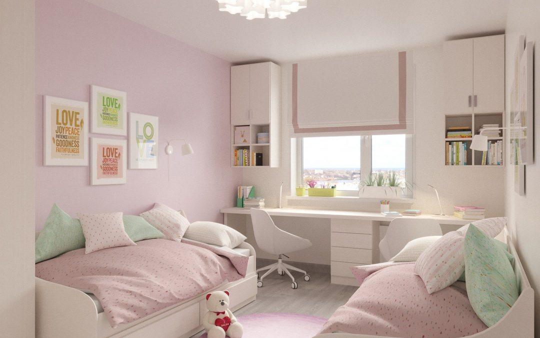 Comment agrandir une petite chambre d'enfant ?