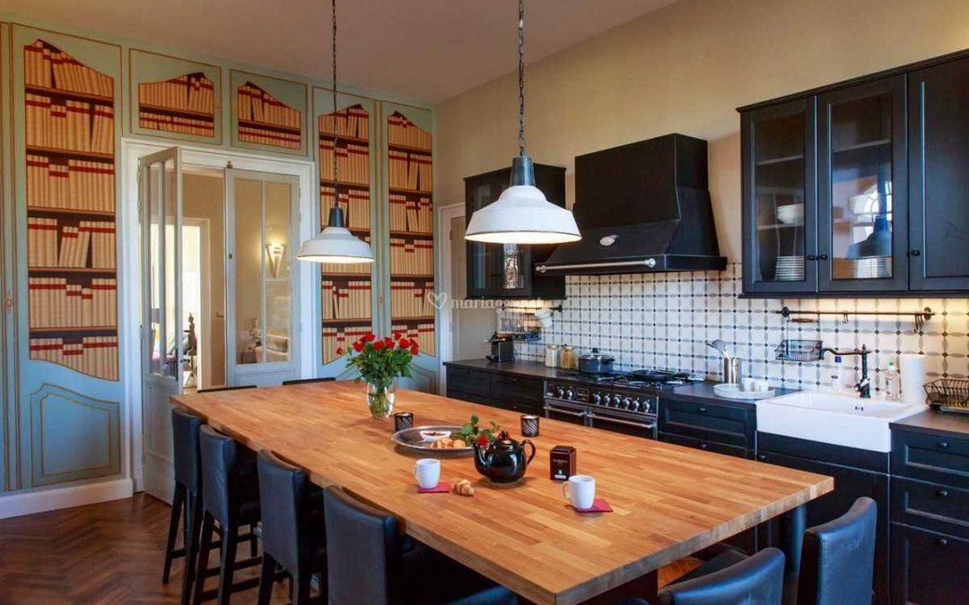 Une cuisine conviviale grâce à un éclairage adéquat