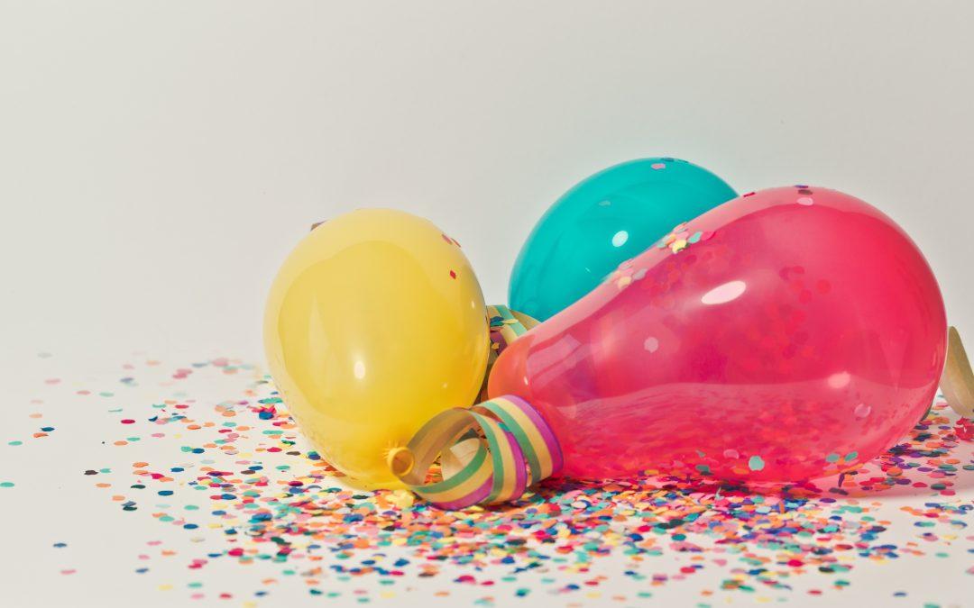 Idées de décoration pour un anniversaire ?