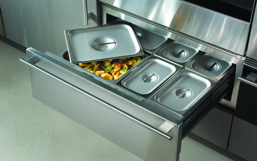 Le tiroir chauffant, pour une cuisine de professionnel