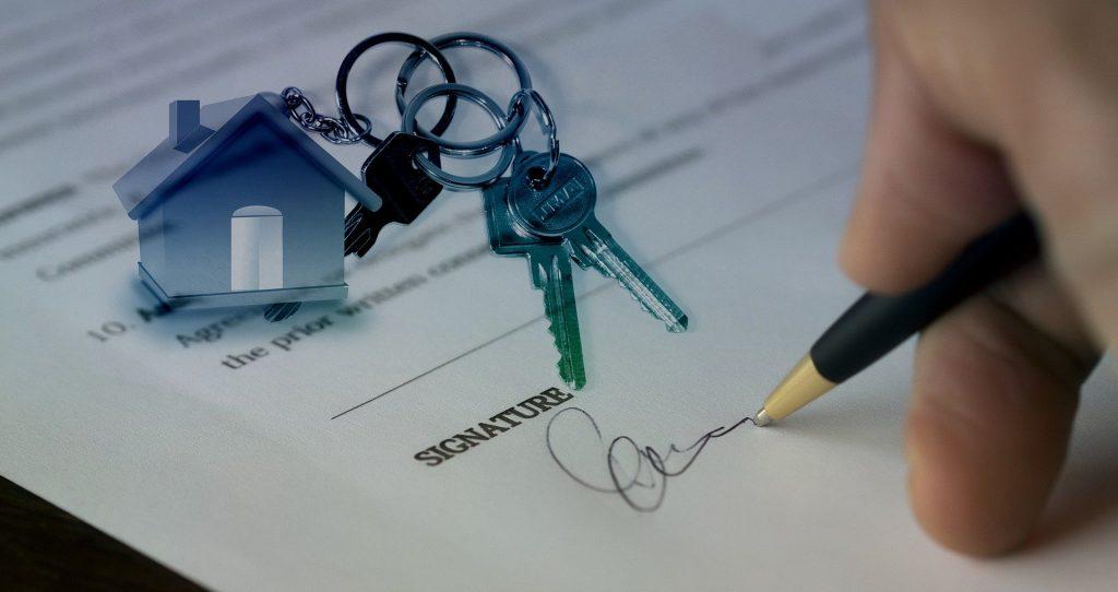 recherche d'emploi immobilier signature contrat