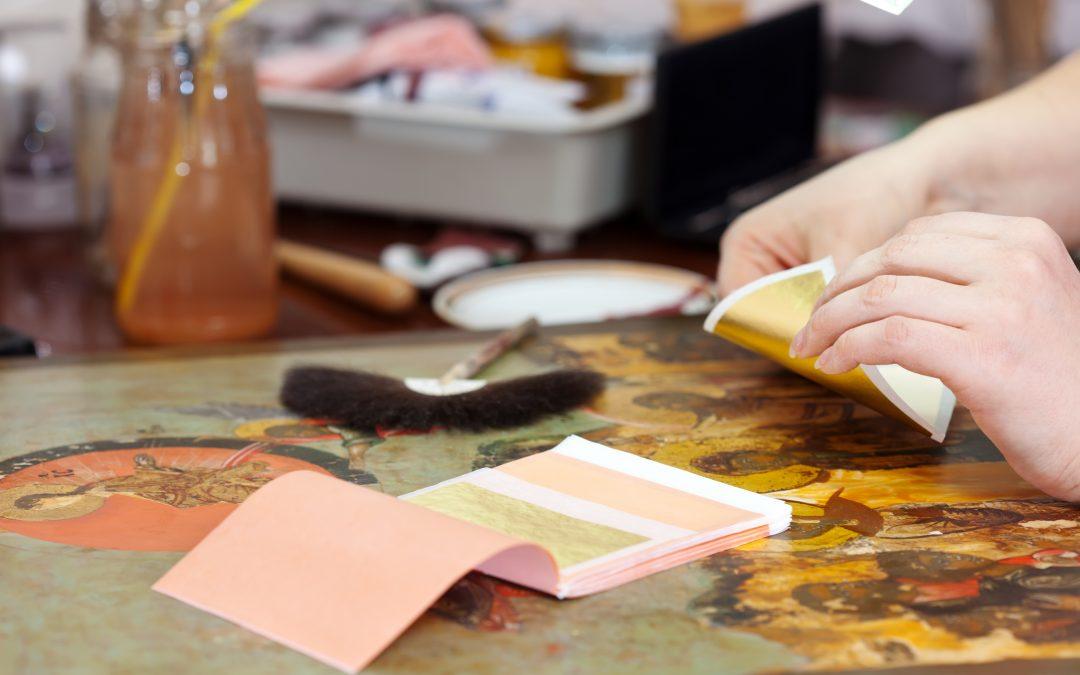 Comment dorer un cadre photo à la feuille d'or?